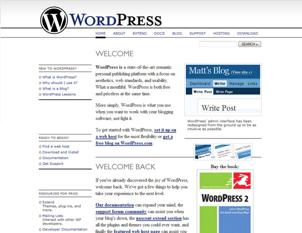 WordPress 2010