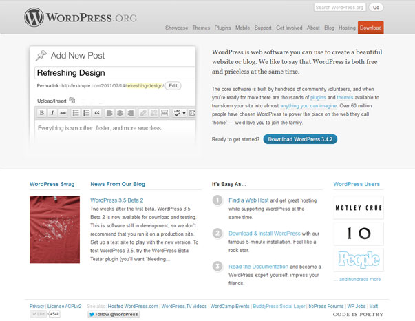WordPress 2012